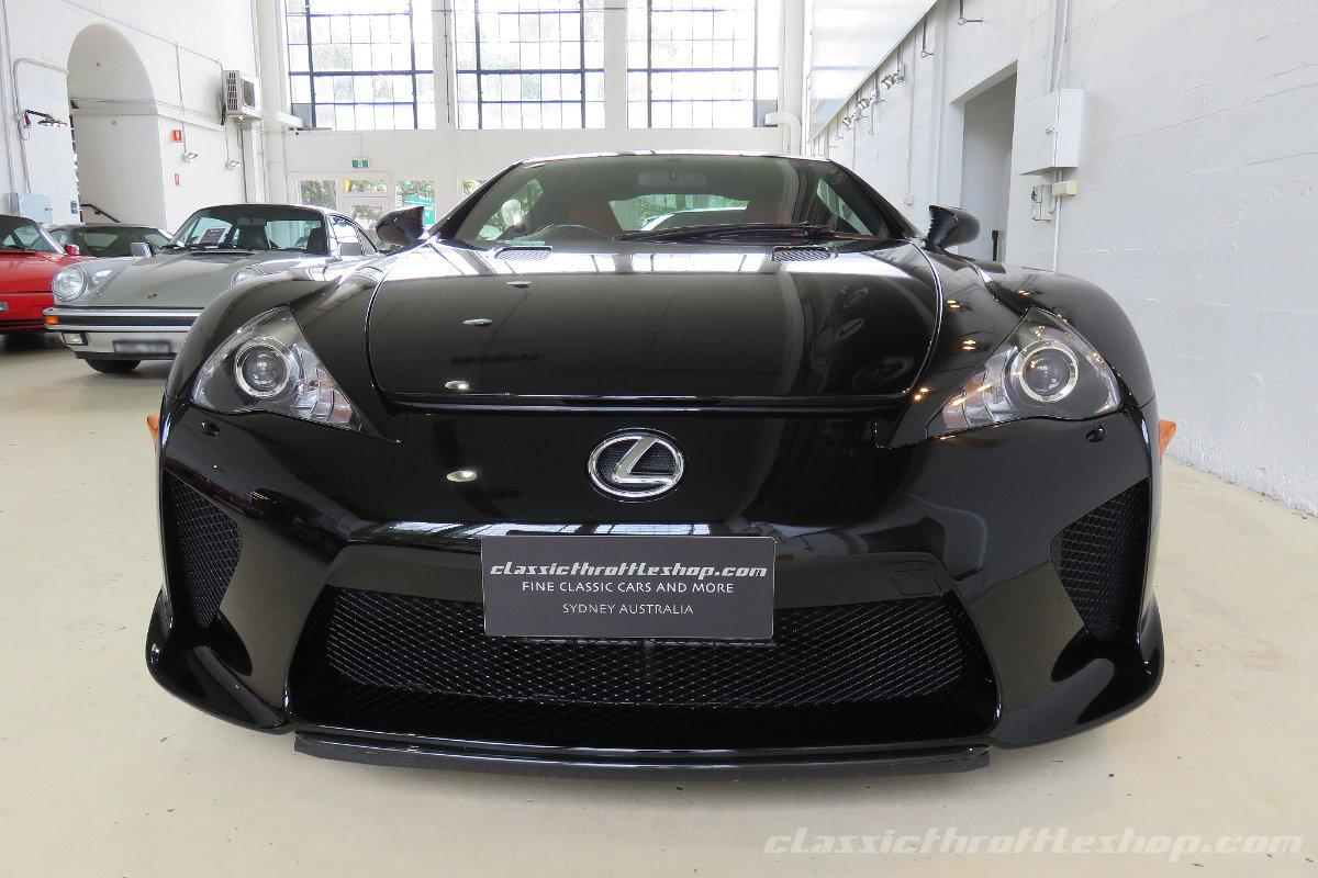 2012 lexus lfa classic throttle shop. Black Bedroom Furniture Sets. Home Design Ideas