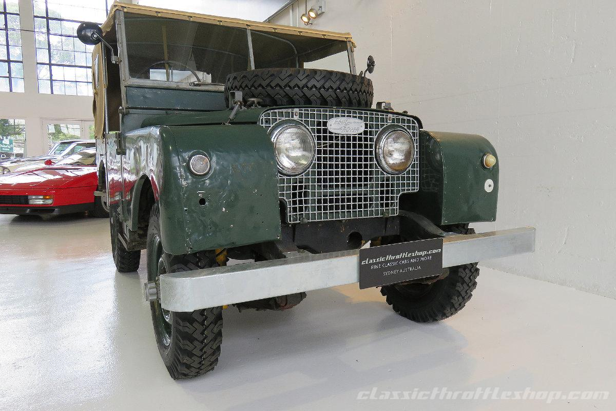 1951-Land-Rover-Series-1-Brunswick-Green-1