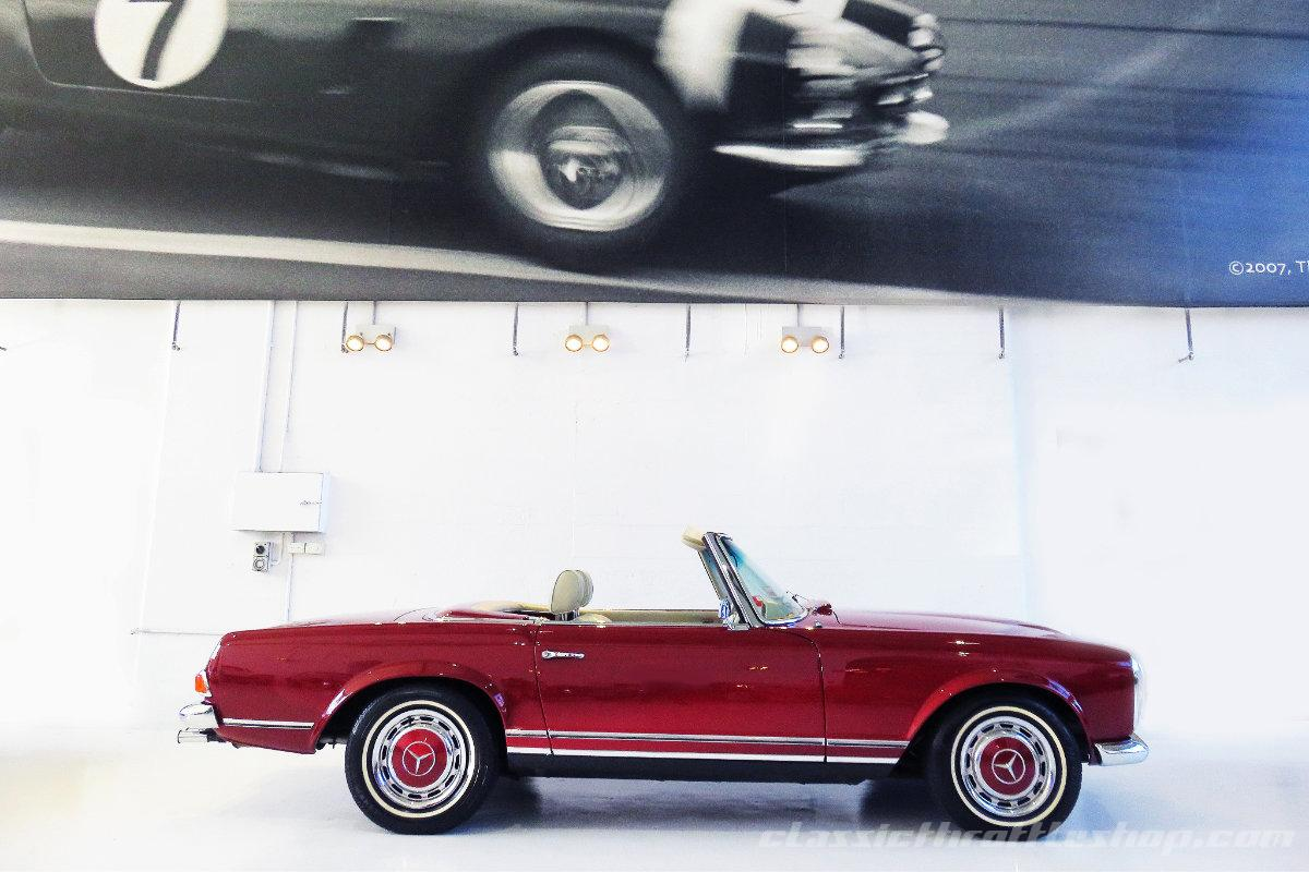 2nd Hand Mercedes Benz >> 1968 Mercedes-Benz 280 SL | Classic Throttle Shop