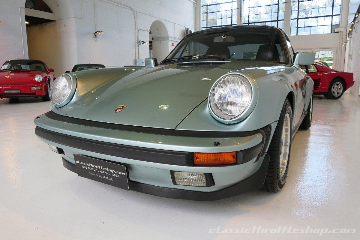 1985 Porsche 911 Carrera Classic Throttle Shop