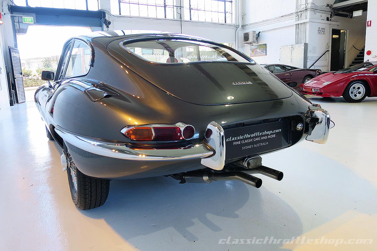 1963 jaguar e type series 1 fixed head coupe classic. Black Bedroom Furniture Sets. Home Design Ideas