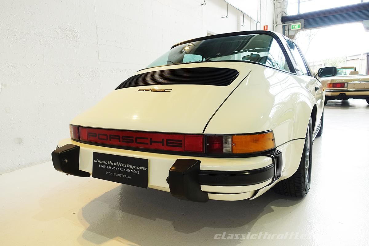 1982 porsche 911 sc targa classic throttle shop. Black Bedroom Furniture Sets. Home Design Ideas
