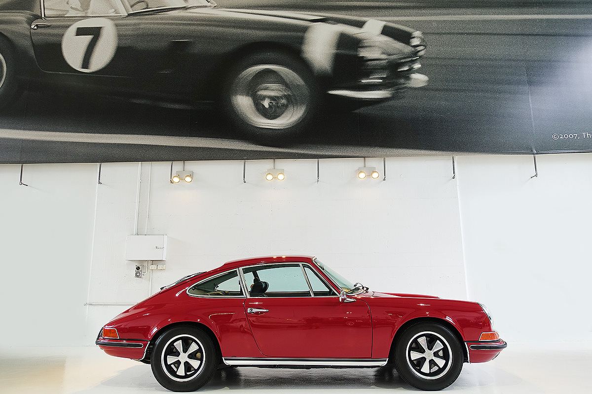 Mercedes Coupe For Sale >> 1969 Porsche 911 S Polo Red | Classic Throttle Shop