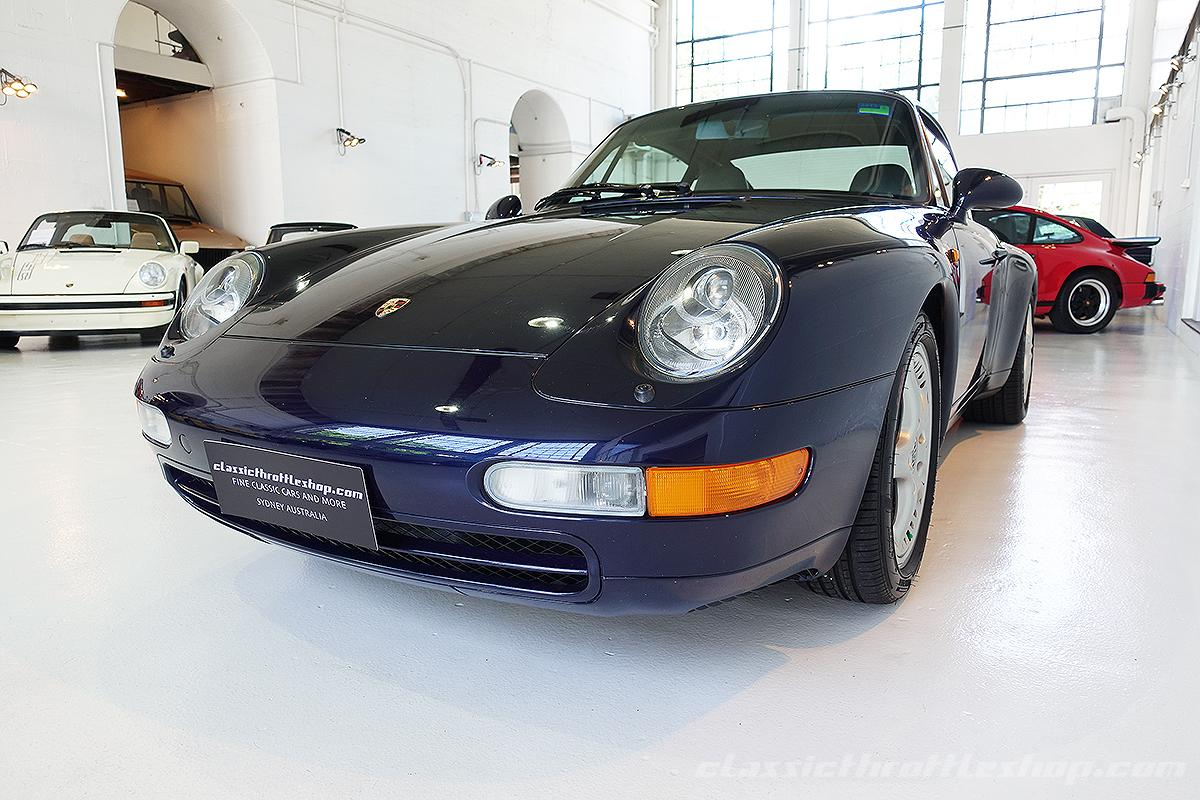 1998 porsche 993 carrera targa classic throttle shop. Black Bedroom Furniture Sets. Home Design Ideas