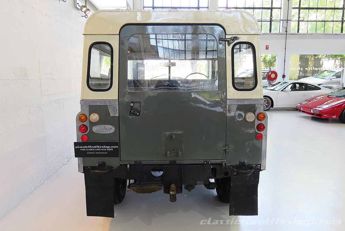 1975 Land Rover 88 Series III Light Green | Classic ...