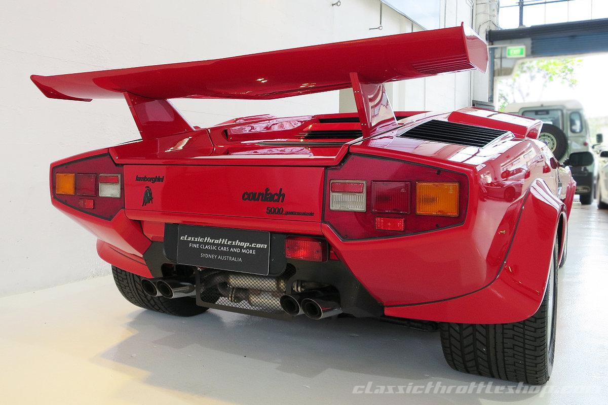 1985 Lamborghini Countach 5000qv Classic Throttle Shop