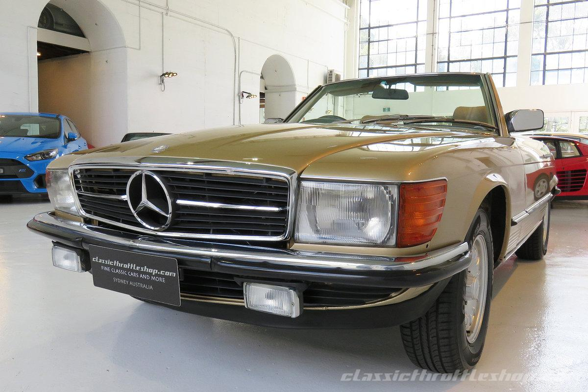 1980 mercedes benz 380 sl classic throttle shop. Black Bedroom Furniture Sets. Home Design Ideas