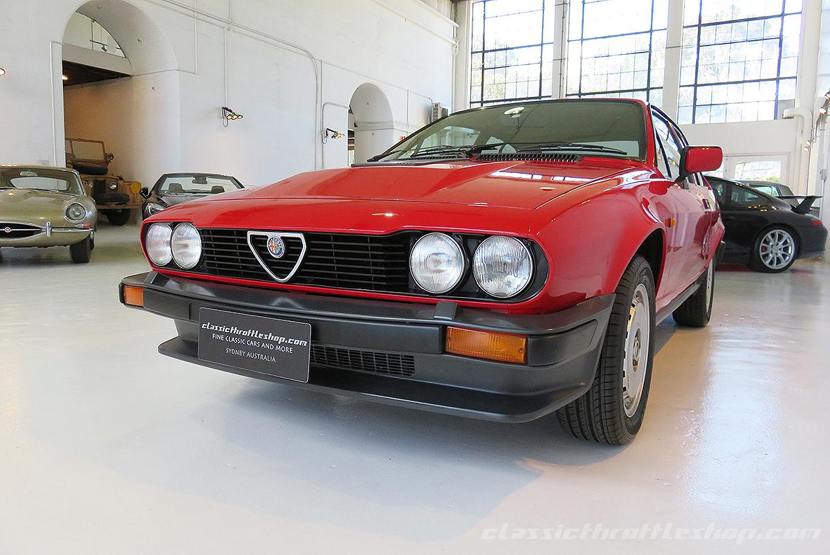 1982 alfa romeo gtv6 classic throttle shop. Black Bedroom Furniture Sets. Home Design Ideas