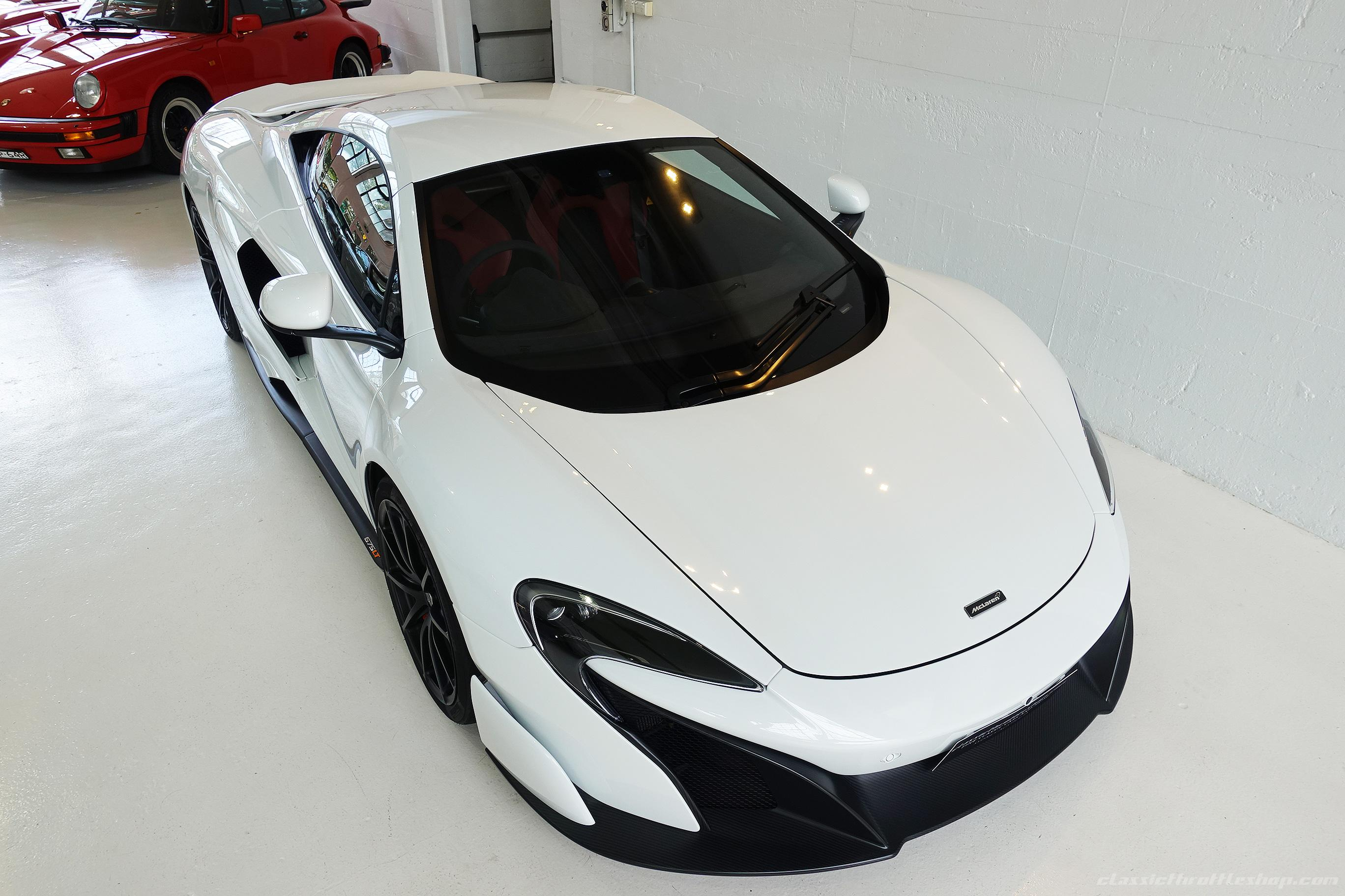 2015 Mclaren 675 Lt Sliica White Classic Throttle Shop