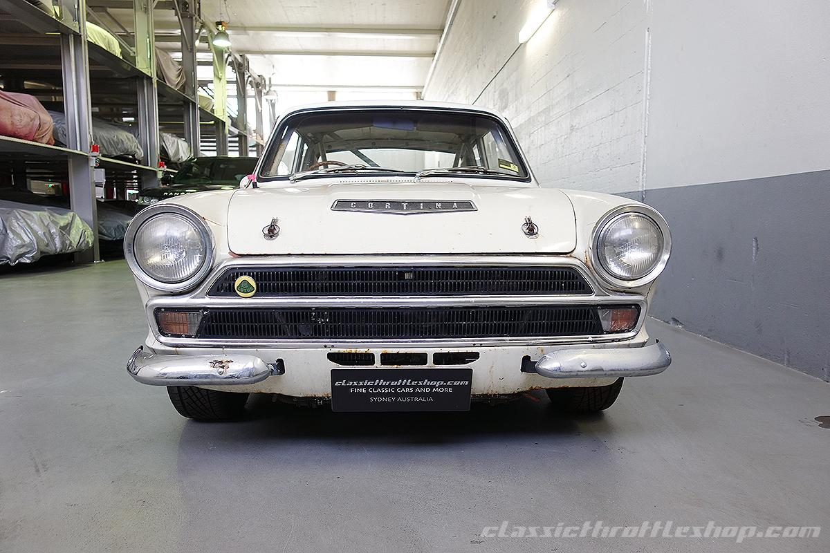 1966 Lotus Cortina Mk1 Classic Throttle Shop