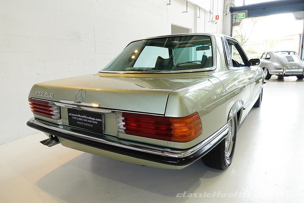 1974-Mercedes-Benz-450-SLC-Thistle-Green-6
