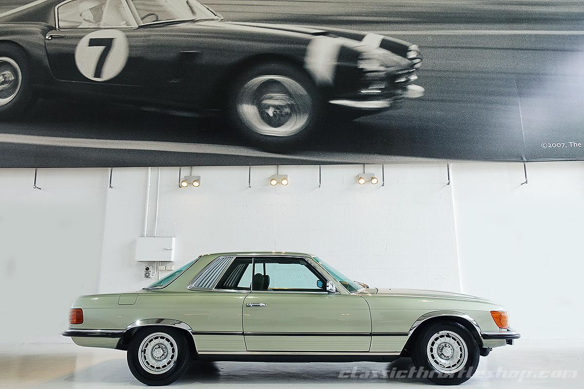 1974-Mercedes-Benz-450-SLC-Thistle-Green-7