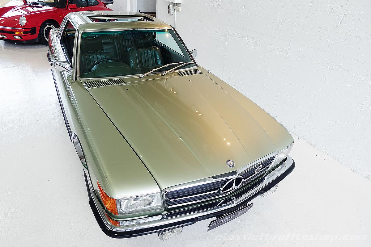 1974-Mercedes-Benz-450-SLC-Thistle-Green-8