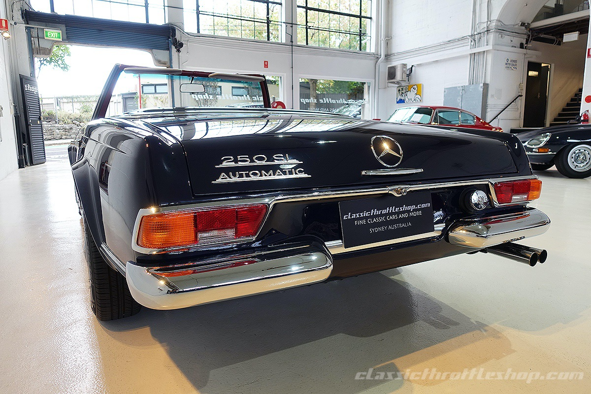1967 mercedes benz 250 sl classic throttle shop. Black Bedroom Furniture Sets. Home Design Ideas