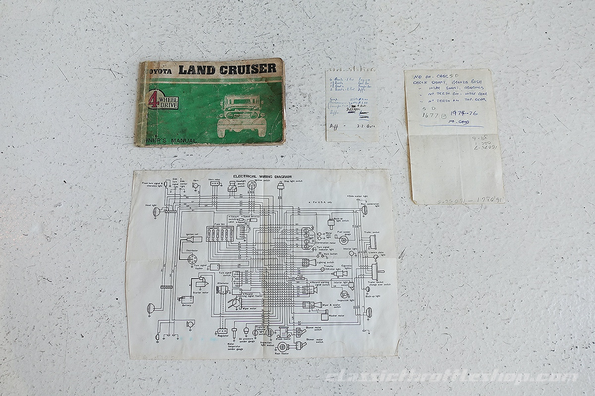 Fj55 Wiring Diagram Detailed Schematics Toyota Land Cruiser 1974 Data U2022 Plug