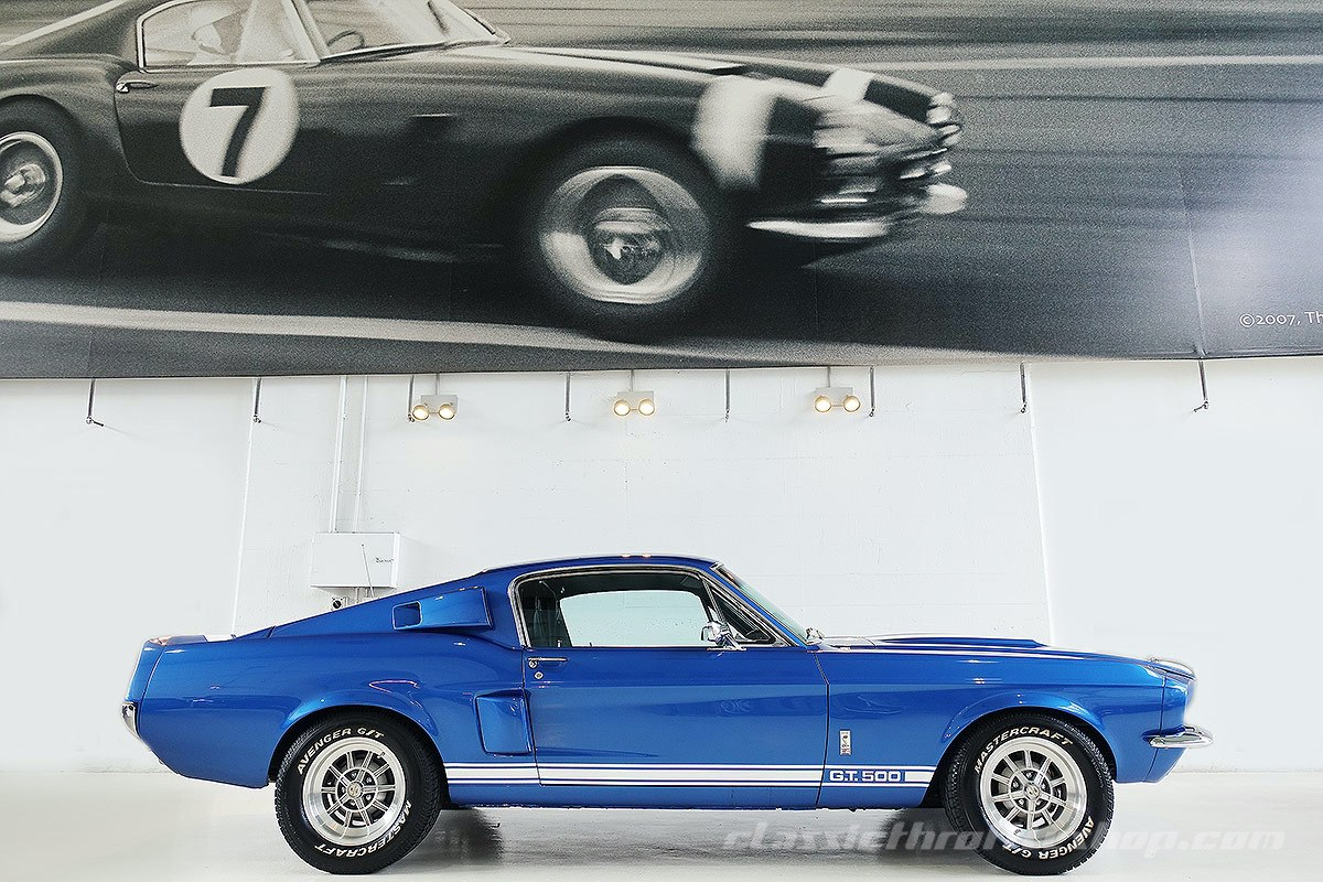 1967 Shelby Ford Mustang Gt500 Classic Throttle Shop
