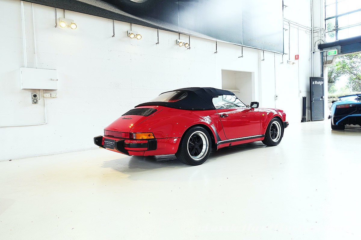1989 Porsche 911 Speedster Classic Throttle Shop